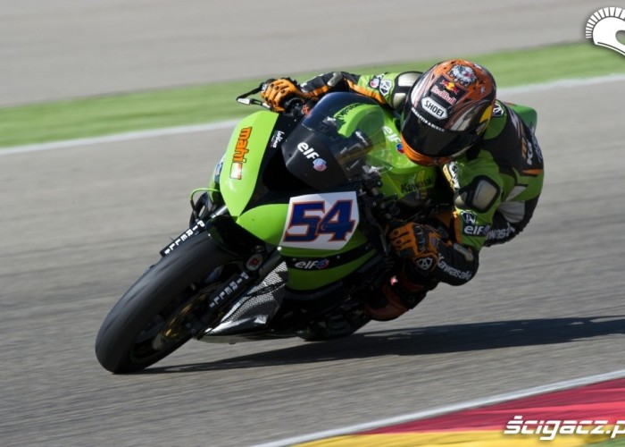 World Supersport Aragon Kawasaki ZX6R
