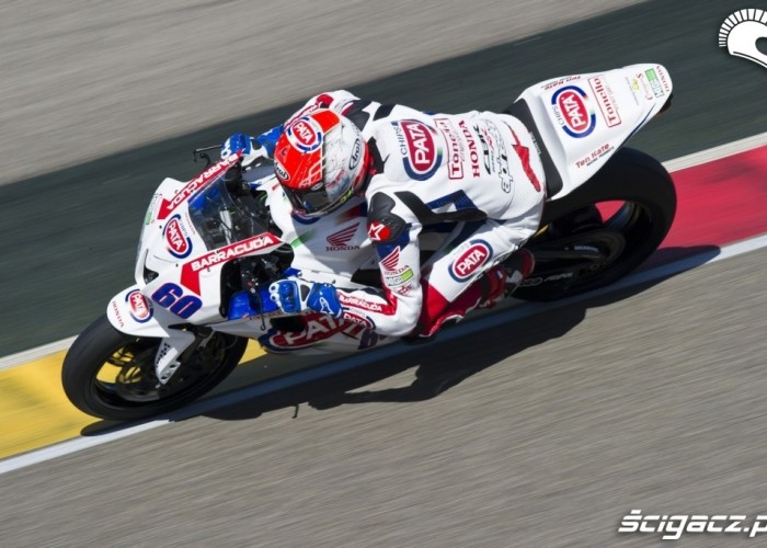 World Supersport Aragon Pata Racing