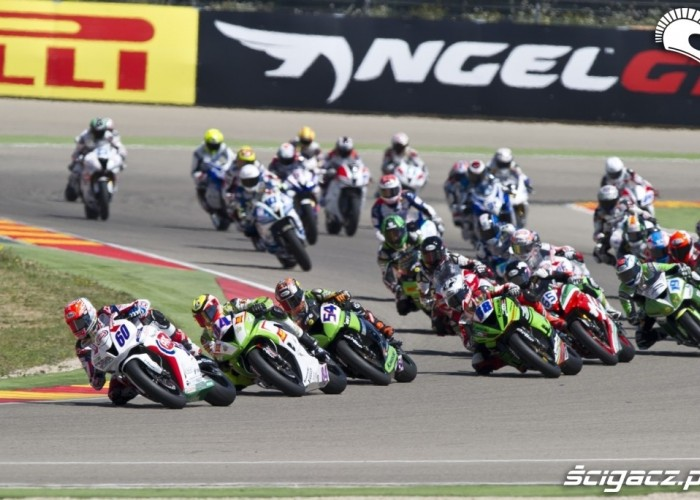 Wyscig SSP World Supersport Aragon