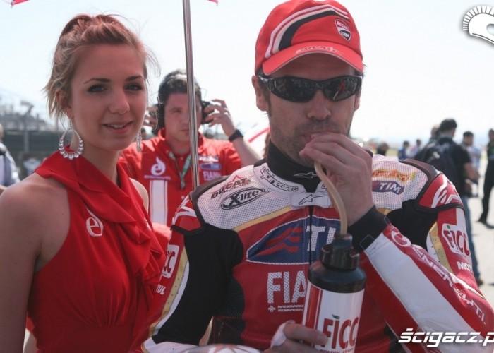 Ducati girs SBK Motorland Aragon
