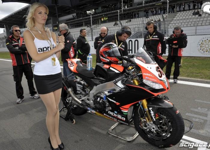 dziewczyna WSBK Nurburgring