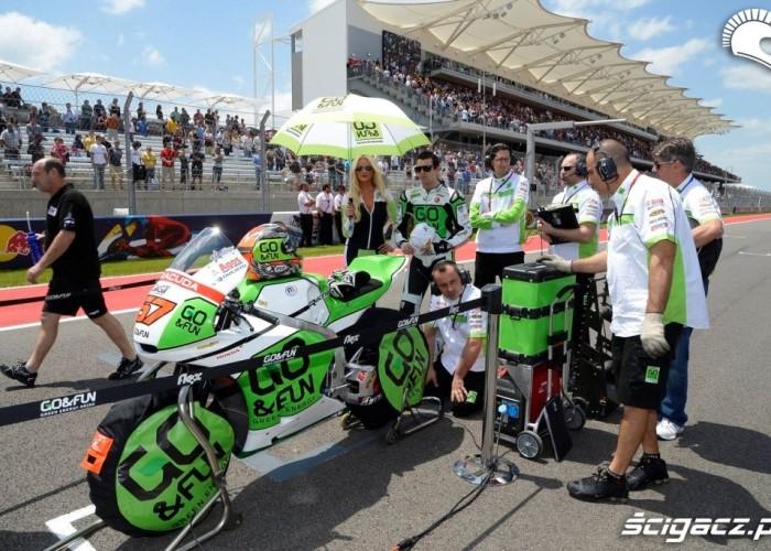 Na starcie Grand Prix of Americas Austin 2013