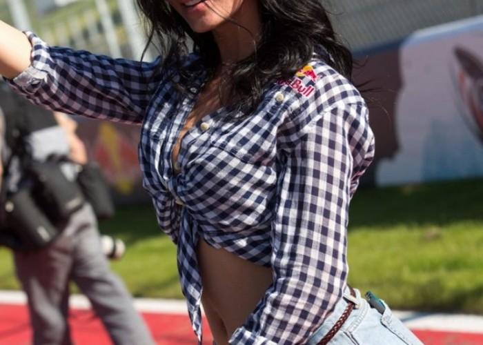 modelka Grand Prix of Americas Austin 2013