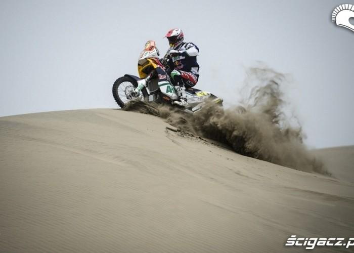 Dakar Rally 2013 piach