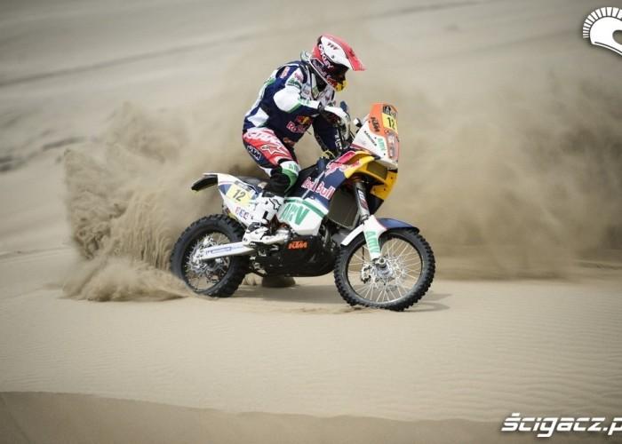 Dakar Rally 2013 piaski