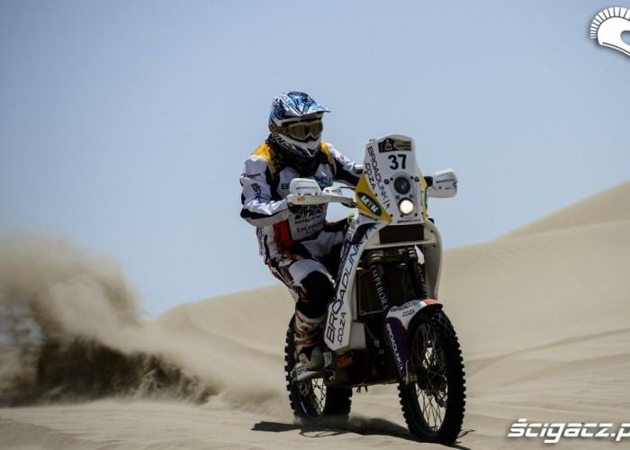 Dakar Rally 2013 pustynia