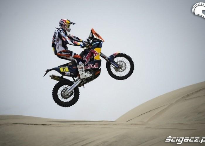 Dakar Rally 2013 skok