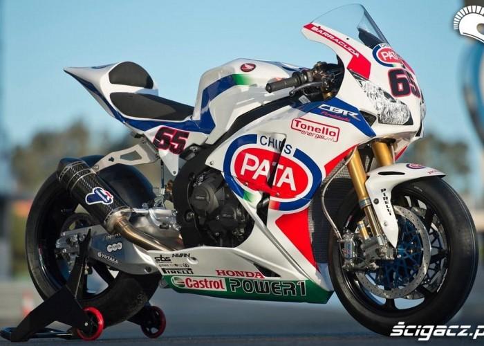 CBR 1000RR Testy WSBK Jerez 2013
