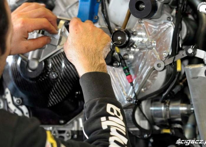 Elektronika Testy WSBK Jerez 2013