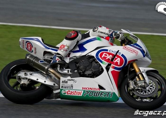 Honda Testy WSBK Jerez