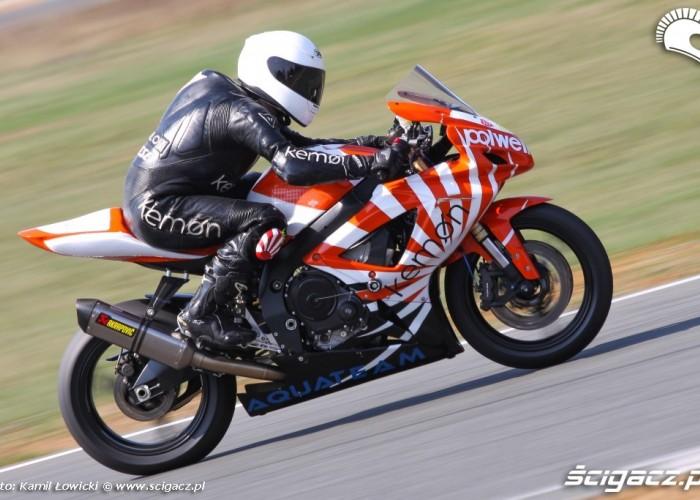 GSX R600 speed day tor poznan