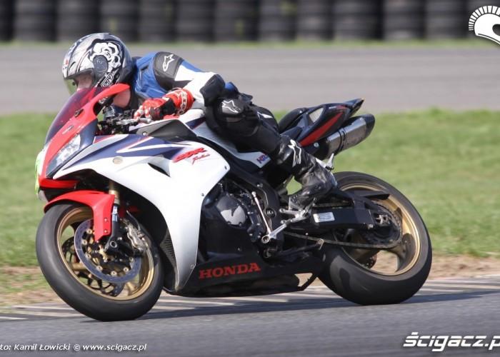 Honda CBR speed day tor poznan 2013