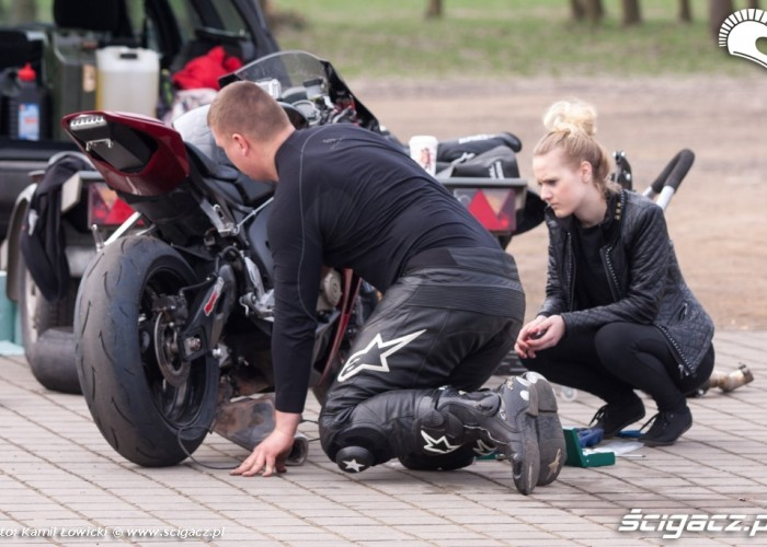 Inspekcja opon speed day tor poznan kwiecien 2013