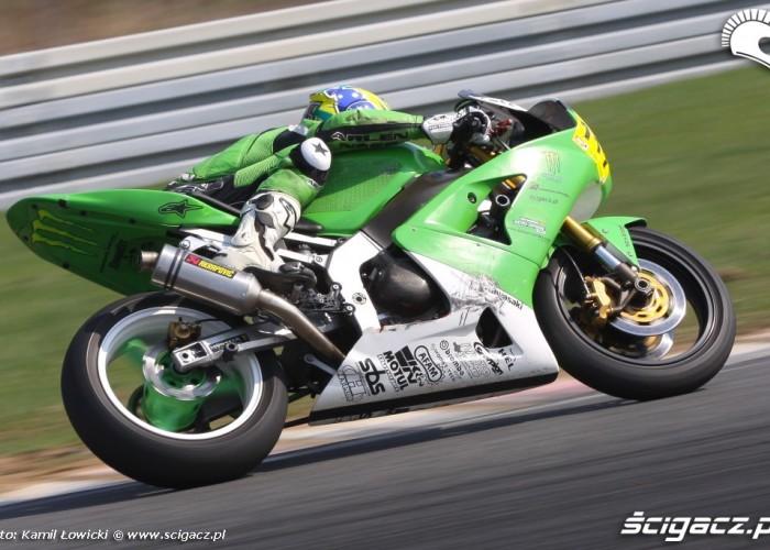 Kawasaki ZX speed day tor poznan