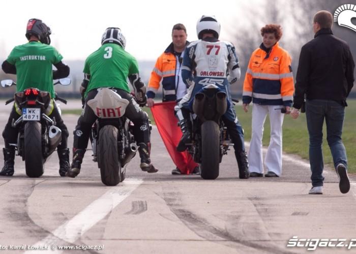 Przed wyjazdem speed day tor poznan kwiecien 2013