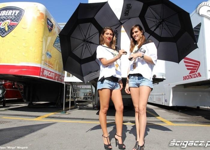 Dziewczyny Aprilia World Superbike Monza 2013