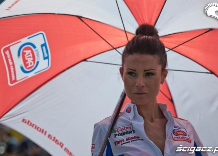 Hostessa Pata Honda WSBK Monza 2013