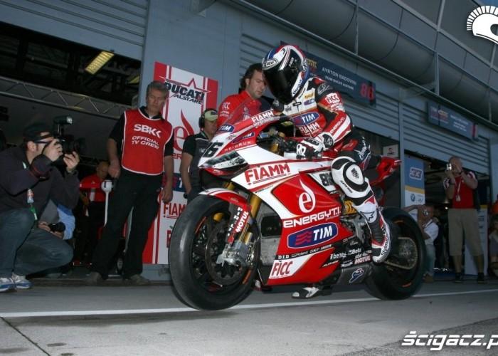 Ducati box WSBK Monza 2013