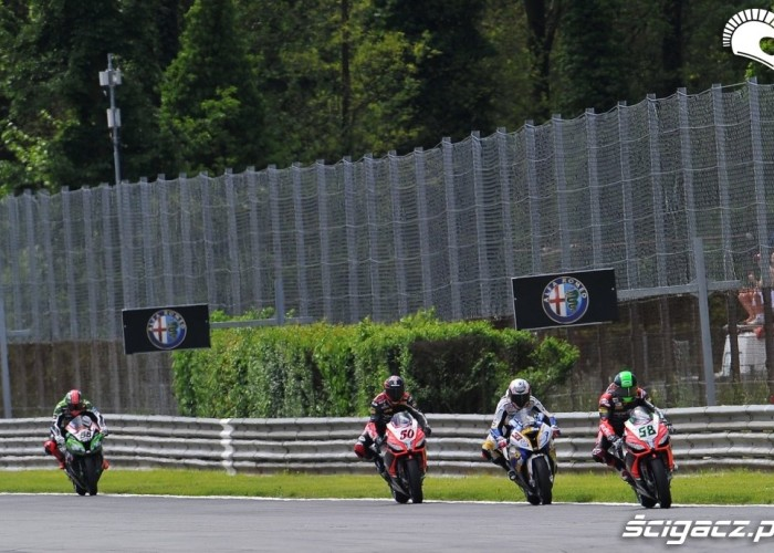 Hamowanie Superbike Monza 2013