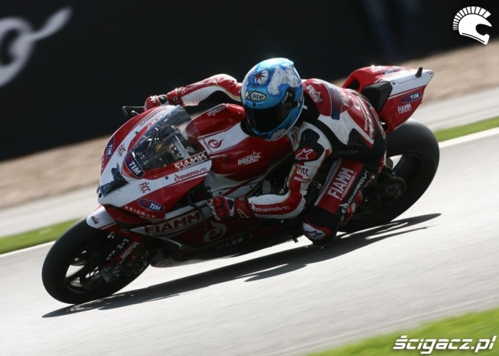 Carlos Checa Superbike Silverstone 2013