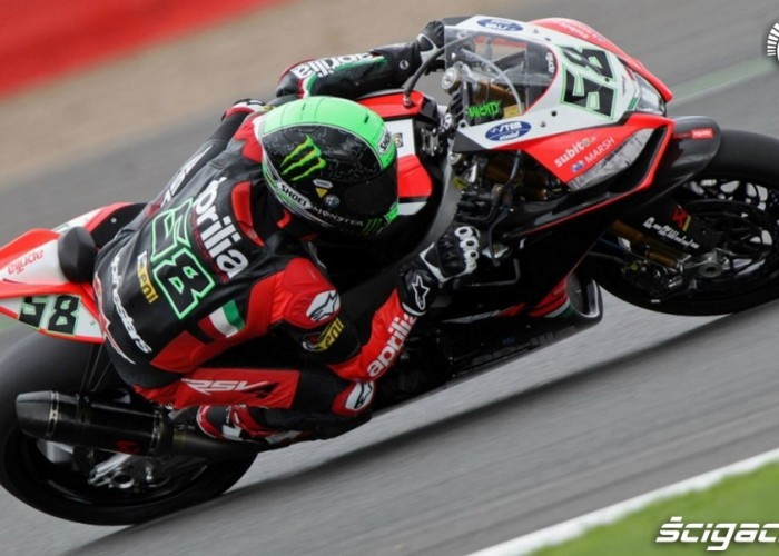 Laverty Superbike Silverstone 2013