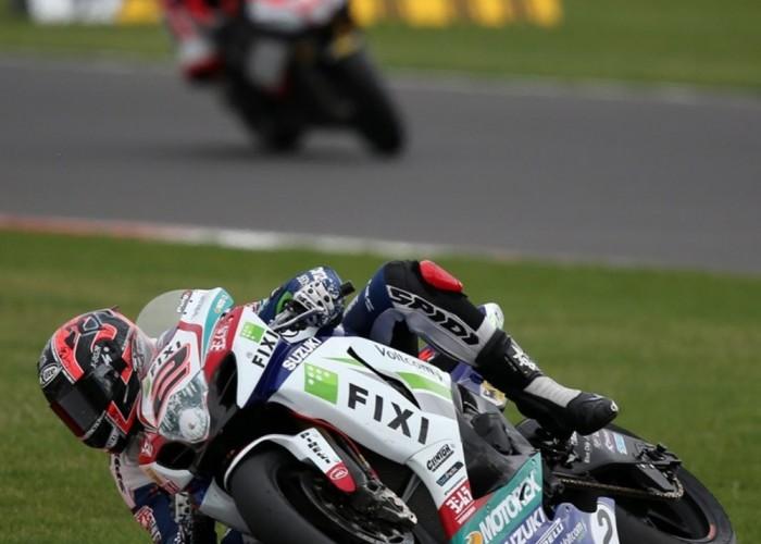 Leon Camier Superbike Silverstone