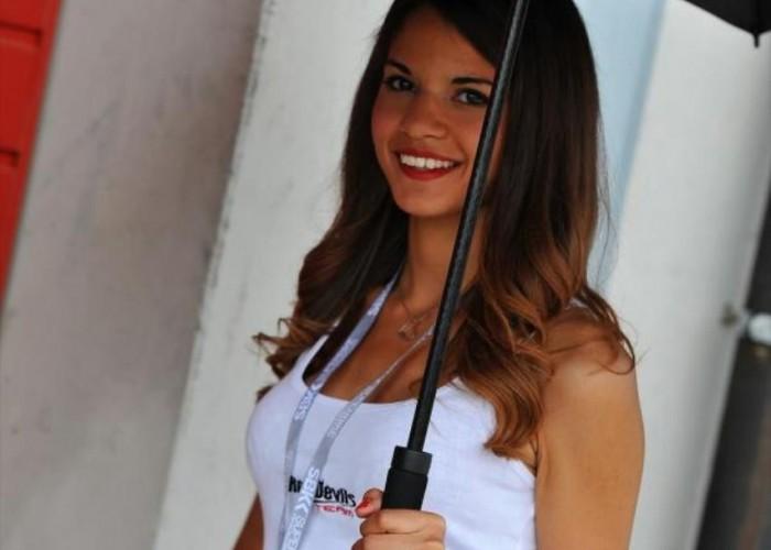Aprilia dziewczyny World Superbike Imola 2013