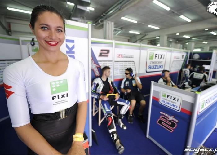 Box Suzuki Imola 2013 dziewczyny
