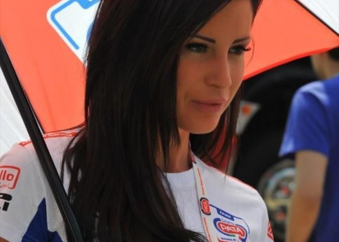 Brutnetka dziewczyny World Superbike Imola 2013