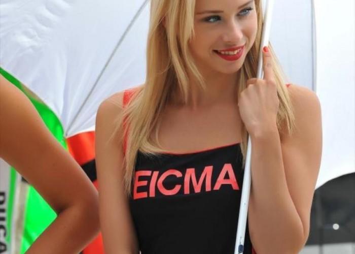 EICMA dziewczyny World Superbike Imola 2013