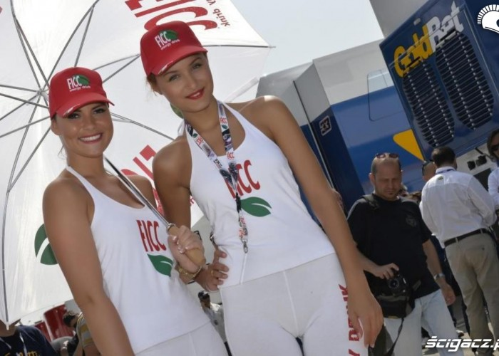 Laski dziewczyny World Superbike Imola 2013
