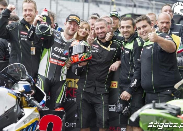Ekipa Kawasaki Superbike Nurburgring 2013