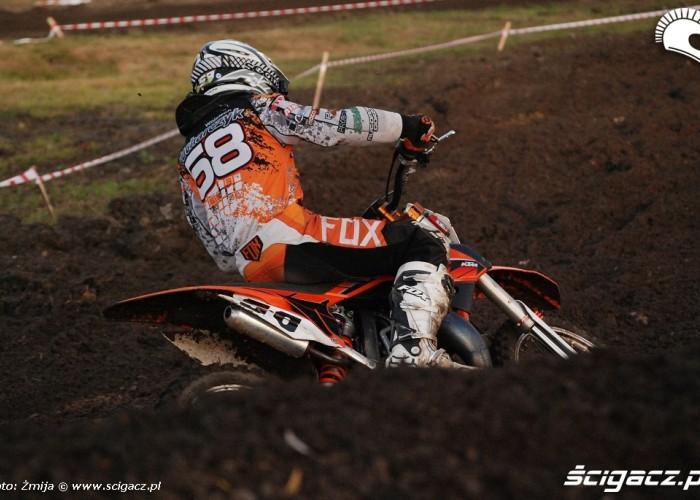 Wojtek Kucharczyk zawody motocross