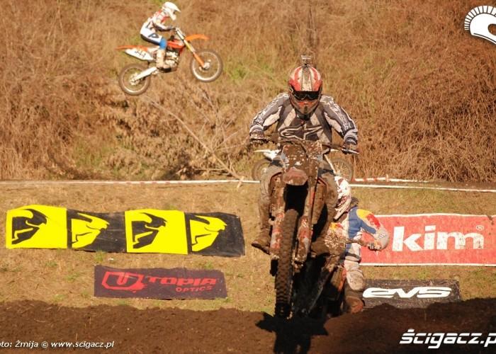 motocross w tle