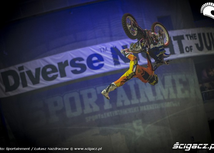 Ewolucja na Diverse Night Of The Jumps