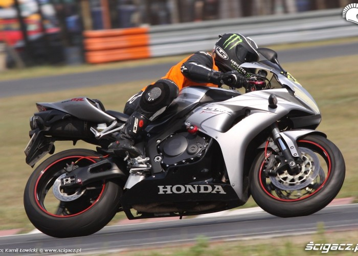 Speed Day lipiec 2014 Poznan CBR1000