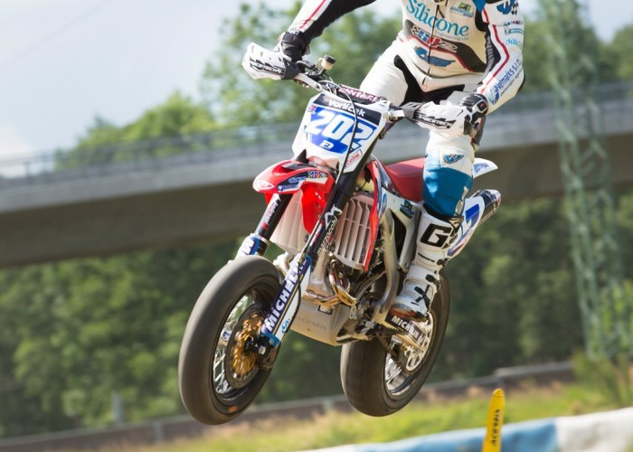 Peter Vorlicek FIM Supermoto GP Czech