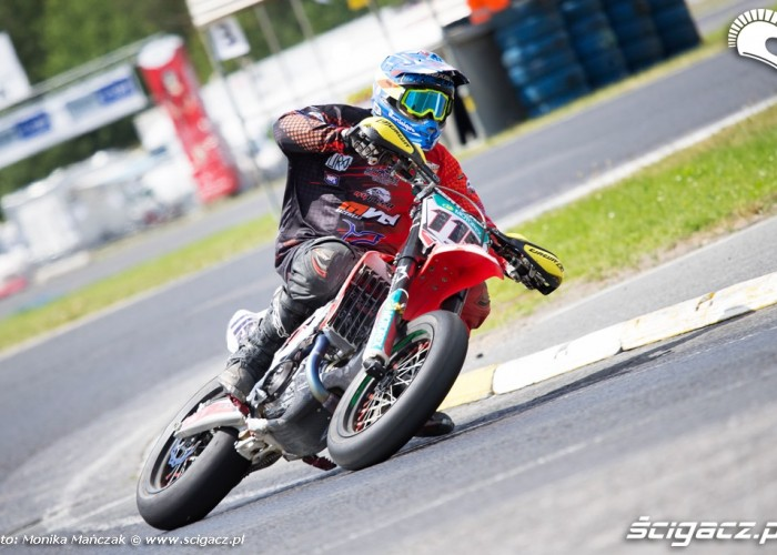 Wojciech Manczak FIM Supermoto GP Czech