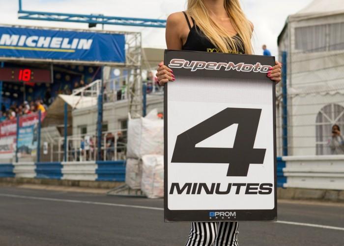 blondynka FIM Supermoto GP Czech