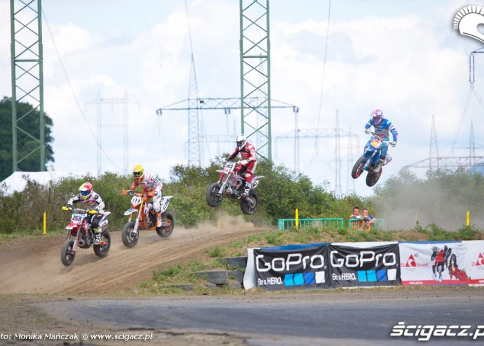 wyscig FIM Supermoto GP Czech