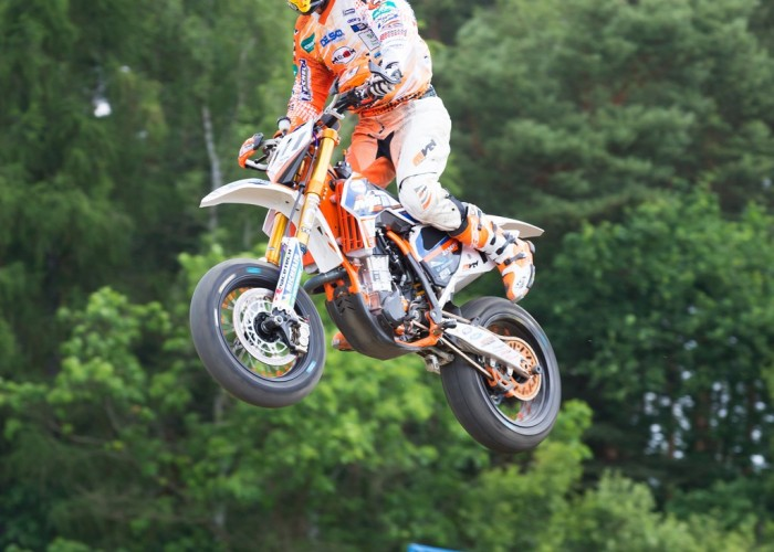 wyskok FIM Supermoto GP Czech