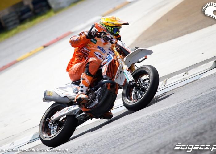 zawodnik FIM Supermoto GP Czech