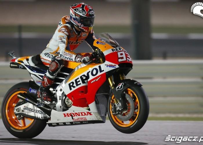 Marquez wheelie