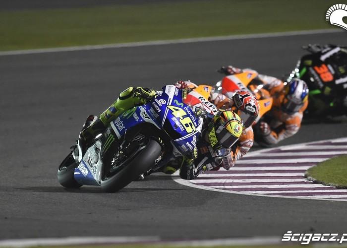 Rossi w zakrecie