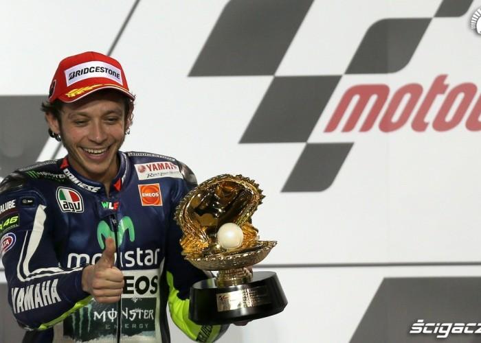 Rossi z trofeum