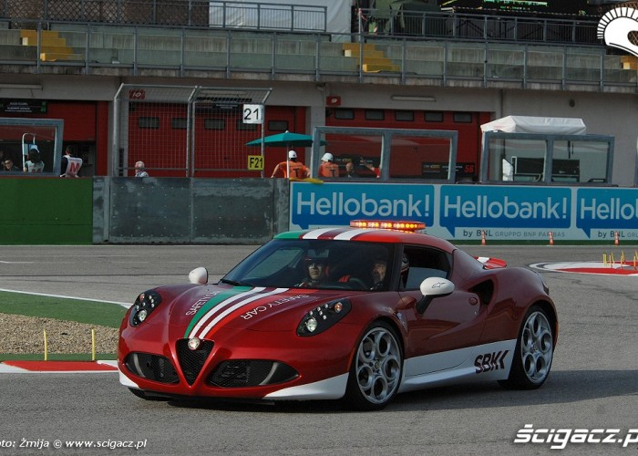 Alfa Romeo tor wyscigowy