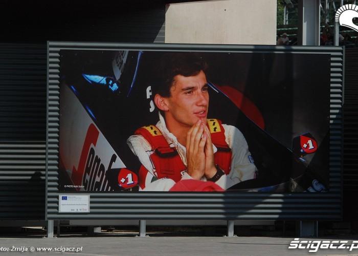 Ayrton Senna zdjecie