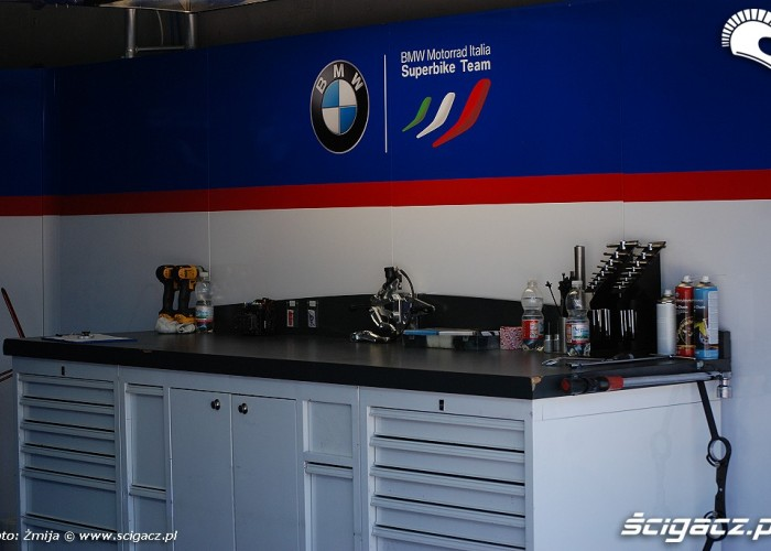 BMW Motorrad Italia boks