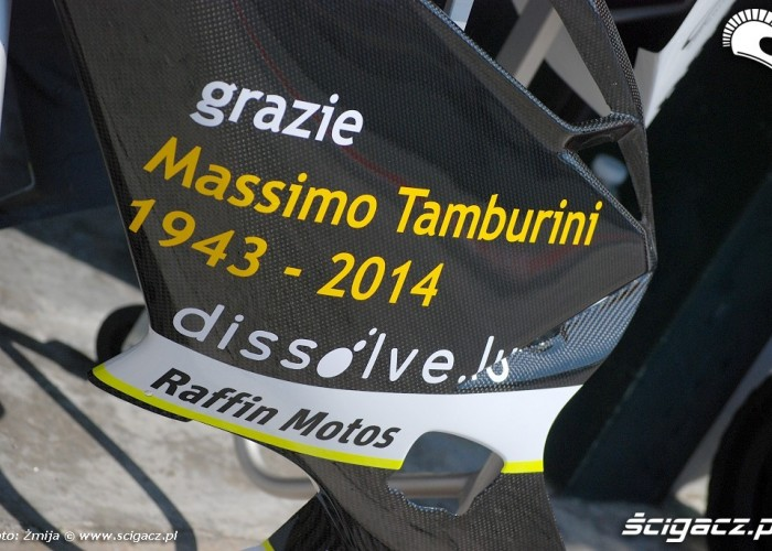 Owiewka grazie Massimo Tamburini