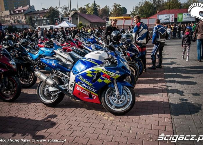 motocyklisci w tarnowie gsxr